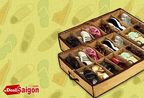 Bỏ sỉ túi đựng giày 12 ngăn
