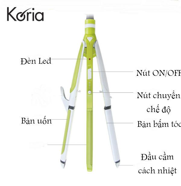 Máy uốn, duỗi, bấm tóc Koria KA-4602